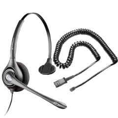 Scansource Communications Plantronics H251N SupraPlus Noise-Canceling Headset with RJ9 Adapter