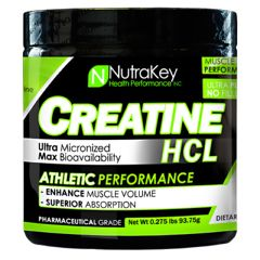 Nutrakey Creatine HCL - Unflavored