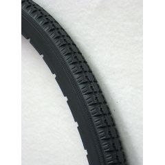 New Solutions Dark Grey Urethane Snap-on Street Tire 24x1 Fits Most