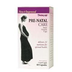 Twin Laboratories Pre-Natal Care Caps Prenatal Vitamins