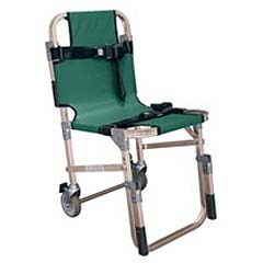 "Complete Medical Supplies Evacuation Chair w/5"" Rear Wheels"