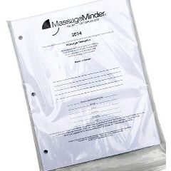 Massage Minder Original Appointment Book Dated Refill 7-Ring