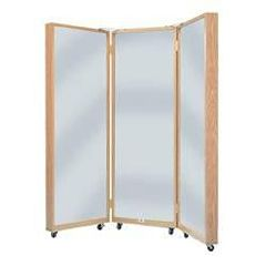 Hausmann Portable Three Panel Mirror