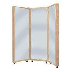 Hausmann Portable Three Panel Mirror