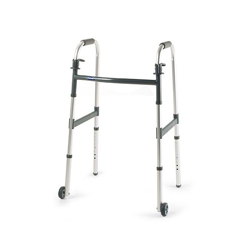 """Invacare  3"""" Fixed Wheels for Invacare I-Class Adult Paddle Walker Model 776 1000             Pack of 4"""