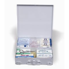 25 Person First Aid Kit - Steel Case