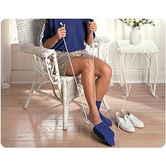 Sammons Preston Sock and Stocking Aid with Built-Up Foam Handles - Adult