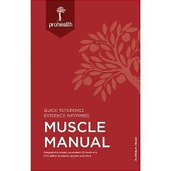 Professional Health System Inc ProHealth Systems Muscle Manual Textbook