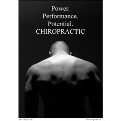 "Innate Products Power Of Chiropractic Poster 18""X24"""