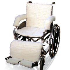 NYOrtho Sheepskin Wheelchair Covers