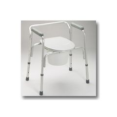 Guardian Easy Care Aluminum Commode