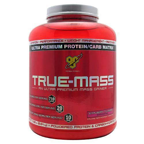 BSN True-Mass - Strawberry Milkshake 5.82 lbs. Model 827 583584 01