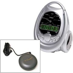 Global Assistive Devices Global Access 4 Vibrating Alarm Clock with Plug for Europe
