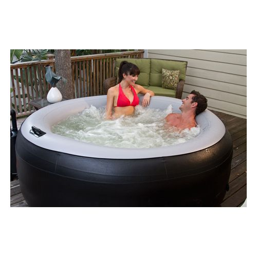 Spa2Go Portable Jacuzzi - EZ Spa2Go Inflatable & Portable Hot Tub/Whirlpool Spa - Black Model 272 0269