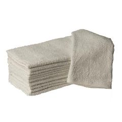 "Hand Towel 16"" X 27"" White 12 Pack"