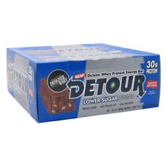 Detour Low Sugar Forward Foods Detour Low Sugar Deluxe Whey Protein Energy Bar - Chocolate Chip Caramel
