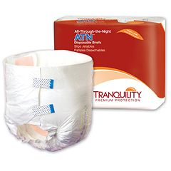 Tranquility ATN All-Through-the-Night Disposable Adult Diapers