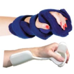 AliMed Comfy Hand and Thumb Orthosis w/Extra Wing for Thumb Support
