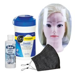 Boomer Face Mask, Face Shield, & Sanitizer Bundle