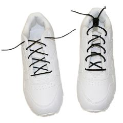Elastic Shoe Laces With Cord-Lock