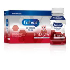 Enfamil® Enfalyte® Oral Electrolyte Solution, for Oral Rehydration, Ready To Use, Cherry Splash, 6 fl oz