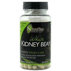 Nutrakey White Kidney Bean Extract Weight Loss Supplement 90 Capsules
