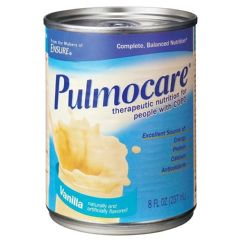 Abbott Nutrition Pulmocare Vanilla - 8 oz cans - Therapeutic Nutrition