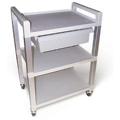 Ideal Medical Products Smooth Rolling And Lightweight Poly Cart