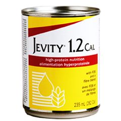 Jevity 1.2 CAL - 8 oz cans - High Protein Nutrition with Fiber