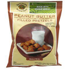 Good Health Peanut Butter Filled Petzels - Salted Peanut Butter Petzels