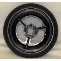 "New Solutions 3 Spoke Urethane Round Wheel - 5 x 1"""