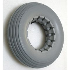 """New Solutions Urethane Rib Caster Tire 7"""" X 2"""" Fits Most 2-Piece Wheels"""