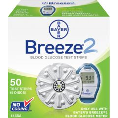 Bayer  Diagnostics BREEZE 2 Test Strips