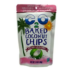 C2O C2O Baked Coconut Chips - Salted Caramel