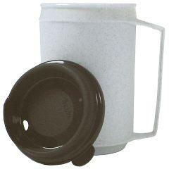 Kinsman Insulated Mug, No-Spill Lid12 Oz.