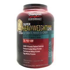 Champion Nutrition Super Heavyweight Gainer 1200 - Double Vanilla Cream Shake