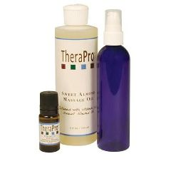 TheraPro Calming Aromatherapy Massage Oil Package