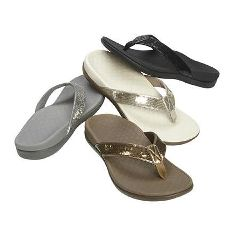Vasyli Vionic Tide II Sequins Toe Post Sandal