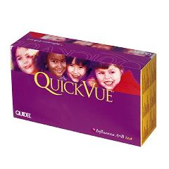 The QuickVue Influenza A + B Test