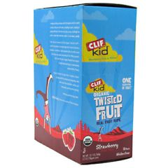 Kid Clif Kid Organic Twisted Fruit - Strawberry