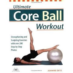 Fitball Ultimate Core Ball Workout - Book