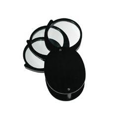 REIZEN Folding Pocket Magnifier - 4x+4x+4 - 36mm