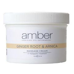 Amber Ginger Root & Arnica Massage Cream