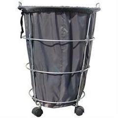 B&S Beauty Supply Laundry Basket - Black