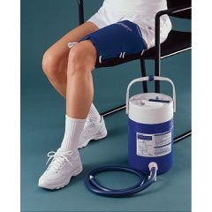 Cryo/Cuff AirCast CryoCuff with Gravity Fed Cooler - Thigh