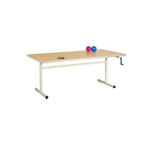 """Clinton Industries Clinton 72"""" Group Therapy Table with Hand Crank Height Adjustment Model 886 0398"""