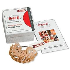 3 Point Products Oval-8 Sizing Set
