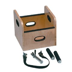 Baseline Fce Work Device - Lifting Box With Handles For Weight Sled - 13 X 13 X 12 Inch