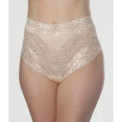 Wearever Women's Lovely Lace Trim Incontinence Panties Beige
