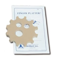 AliMed Finger Platter & Illustrated Instructions